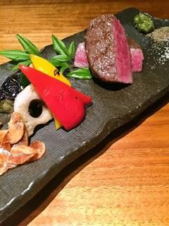 仙台牛 グリルステーキ