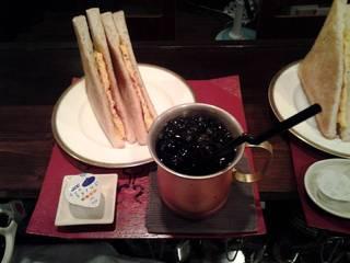 玉子トーストサンド~珈琲付き~450円