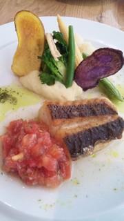 白身魚のポアレ