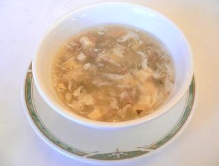 牛肉とフカヒレのスープ
