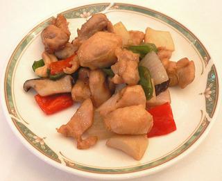 鶏肉の炒め物