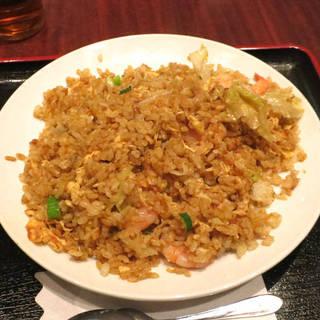 海老五目中華カレー炒飯