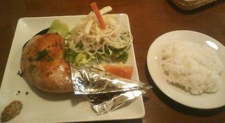 菜々鶏のコンフィ