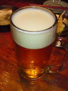 生ビール(大)