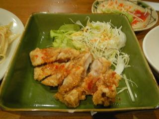 久米島地鶏のもも焼き