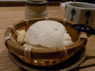 唐津川島豆腐店のざる豆腐