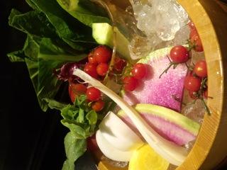 産直野菜の白味噌バーニャカウダソース