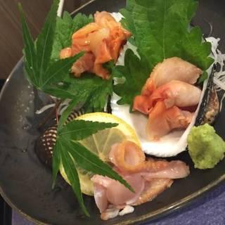 貝類の盛り合わせ