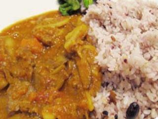 根菜とひき肉のトマトカレー