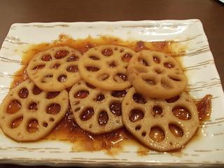 レンコン焼き