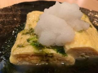 和出汁巻き玉子(四万十あおさあん)