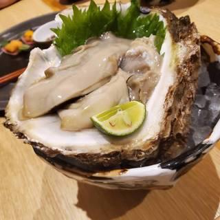 今が旬!!岩牡蠣ポン酢