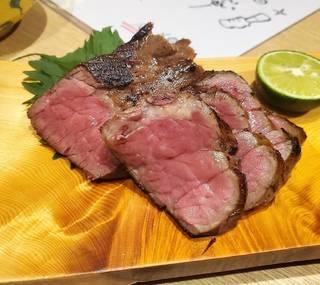 若狭牛ステーキ