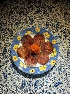 マンガリッツァ豚のサラミ