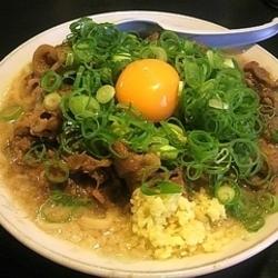 ネギ玉にくぅ麺