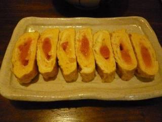 明太チーズ入りだし巻き玉子