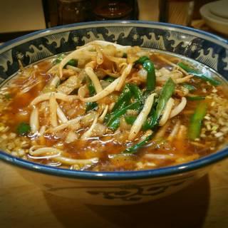 ピリ辛野菜の山水麺