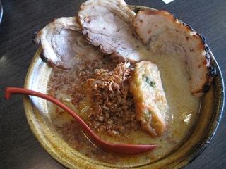 九州麦味噌・味噌漬け炙りチャーシュー麺