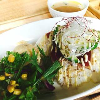 炙りマグロ&アボカド丼