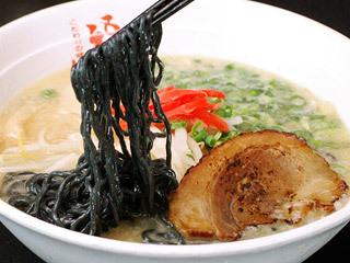 極み白湯炙りチャーシュー麺(ブラック麺)