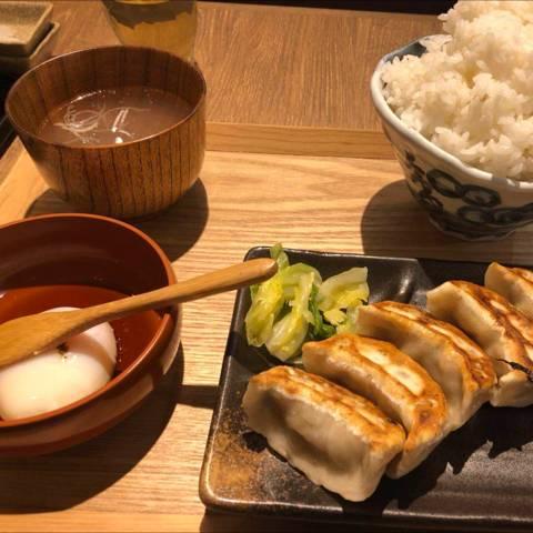 餃子ライス定食