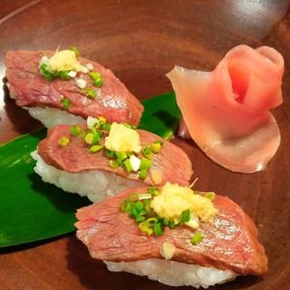 石垣牛寿司