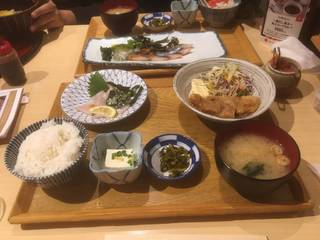博多ごま鯖定食