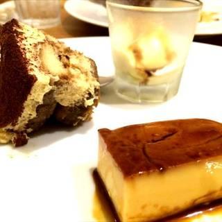デザート3種盛りプレート
