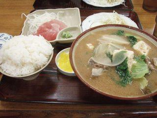 ソーキ汁定食