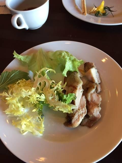 若鶏のグリル レモンバターソース