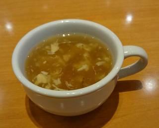 鶏肉としいたけのスープ