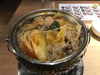 コラーゲン白湯セット鍋(ピリ辛プラス)
