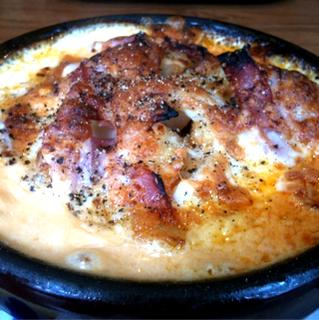 チーズとベーコンのトマトクリームドリア