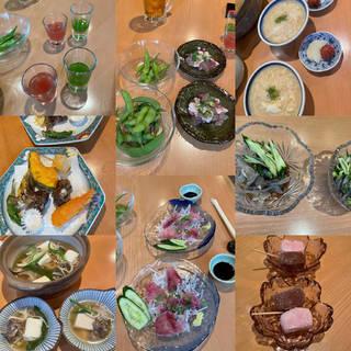 すっぽんコース料理(全9品)