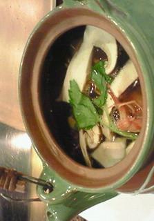 松茸と甘鯛の土瓶蒸