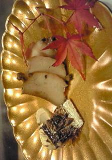 焼き松茸と秋の味覚