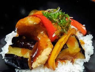 甘鯛と野菜の出汁あんかけ丼