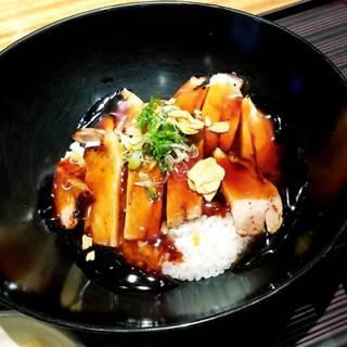 高原豚麹炙り焼き出汁あんかけ丼