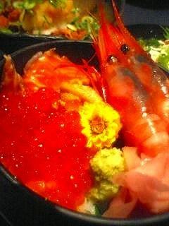 北海贅沢丼
