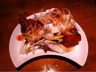 鶏の唐揚げ アジアン風