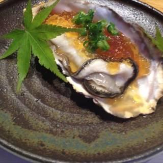 岩牡蠣ポン酢ジュレ合え