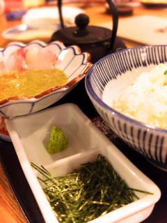 【愛媛】鯛の胡麻だれ茶漬け