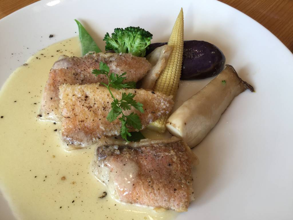 白身魚のソテー