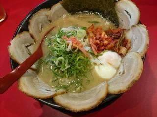 バラ肉チャーシュー麺