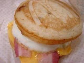 マックグリドル ベーコン&エッグチーズ
