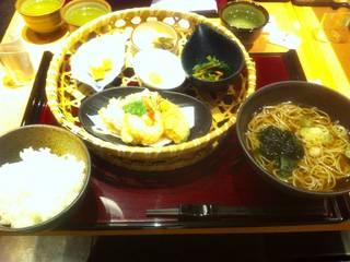 季節の天ぷら膳