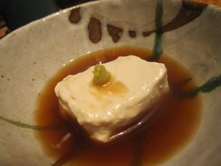 付き出し ゴマ豆腐