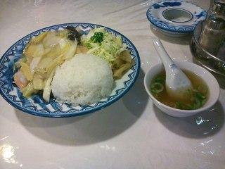 八宝菜ランチ