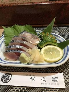 シメ鯖寿司