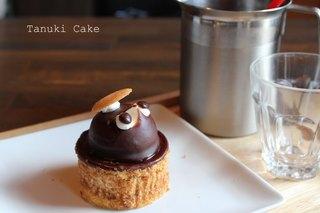 たぬきケーキ